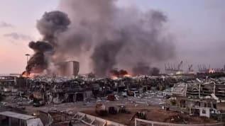 Beyrut'taki patlamanın ardından toplanan Lübnan Meclisi, başkentte 15 gün OHAL ilan etti