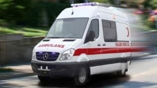 Kocaeli'de jandarma servisinin kaza yapması sonucu 1'i ağır 17 askerimiz yaralandı