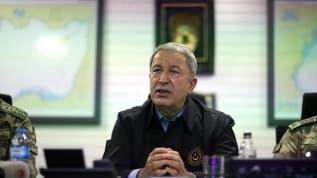 MSB Bakanı Akar: Herhangi bir müdahale karşılıksız kalmadı, kalmayacak