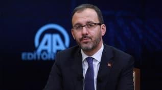Gençlik ve Spor Bakanı Kasapoğlu açıkladı: Bakan Kasapoğlu'dan müjde! Spor merkezleri açılıyor