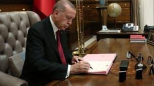 Başkan Erdoğan, 16 üniversiteye rektör ataması yaptı