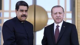 Başkan Erdoğan, Venezuela Devlet Başkanı Nicolas Maduro ile telefonda görüştü