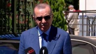 Başkan Erdoğan'dan önemli açıklamalar: Gemilerimize saldırırlarsa karşılığını veririz