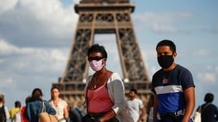 Fransa'nın başkenti Paris'te koronavirüs aktif bir şekilde yayılma moduna girince 'Kırmızı bölge' ilan edildi