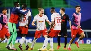 UEFA  Şampiyonlar Ligi'nde Leipzig, tur atladı