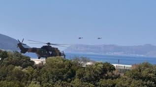 ATAK helikopterleri bölgede! Doğu Akdeniz'den sıcak görüntüler