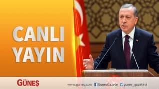 Başkan Erdoğan Rize İl Teşkilatı toplantısında konuşuyor
