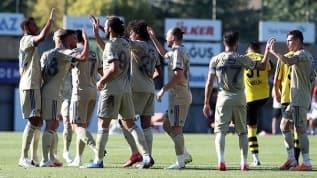 Fenerbahçe hazırlık maçında galip