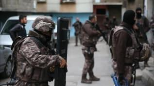 Gaziantep'teki dev uyuşturucu operasyonu'nda 32 kişiye gözaltı