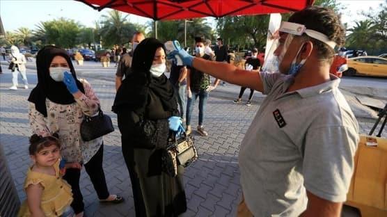 Irak'ta koronavirüs bilançosu! 24 saatte 4 bin 293 vaka