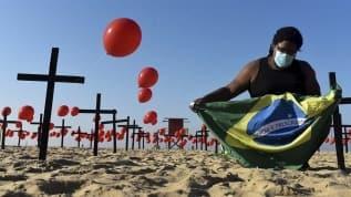 Brezilya, Hindistan ve Meksika'da koronavirüste ölü ve sayıları katlandı