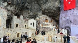 Sümela Manastırı'nda 7'nci ayin