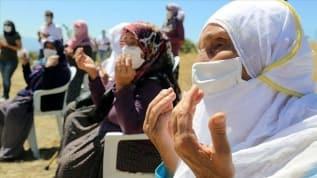 Tunceli'de şehitler için anma töreni