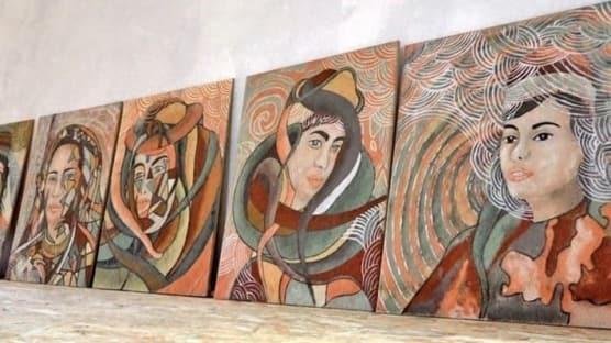 Bingöllü Ali Rıza Kılıç'ın tabloları Avrupa'da satılıyor