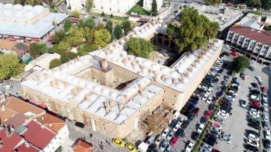 Mimar Sinan inşaa etmişti... Restore edilen Rüstem Paşa Kervansarayı, hizmet vermeye başladı