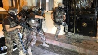Bursa'da bin 500 polisle uyuşturucu operasyonu! Şehir abluka altına alındı