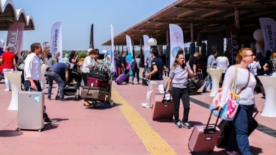 Antalya'ya gelen turist sayısı 2 milyona yaklaştı