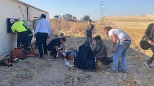 Aksaray'da kontrolden çıkan yolcu otobüsü devrildi, 30 kişi yaralandı