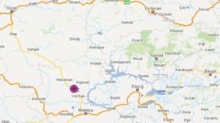 Malatya'da 4.5 büyüklüğünde bir deprem meydana geldi