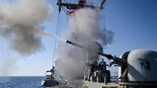 MSB: Doğu Akdeniz'de Gediz fırkateyni harekâta hazırlık kapsamında suüstü ve hava savunma atışları eğitimi icra etti