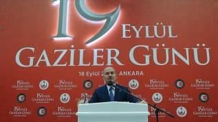 Bakan Soylu, 19 Eylül Gaziler Günü etkinliğine katıldı