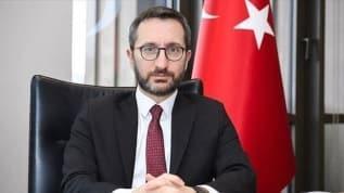 Mevkidaşına mektup gönderen Fahrettin Altun Yunan Gazetesi'nin çirkin manşetine tepki gösterdi