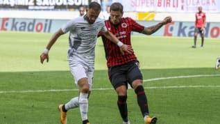 Gençlerbirliği-Konyaspor maçı berabere gitti