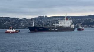 İstanbul Boğazı'nda korkutan anlar: Arıza yapan tanker kıyıya sürüklendi