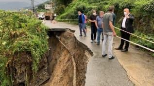 Rize'de yağış sonrası heyelan