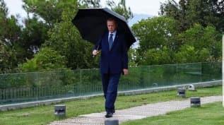 Başkan Erdoğan'dan yağmurlu İstanbul paylaşımı