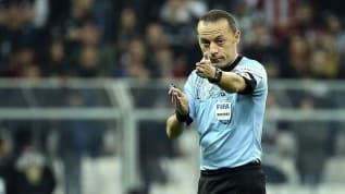 Cüneyt Çakır'a UEFA Şampiyonlar Ligi'nde görev