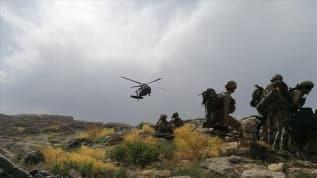 İçişleri Bakanlığı: Hakkari kırsalında, 2 terörist etkisiz hale getirildi