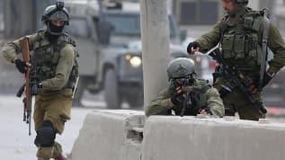 İşgalci İsrail askerleri 4 Filistinliyi yaraladı