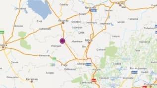 Niğde Bor'da 5.1 büyüklüğünde deprem