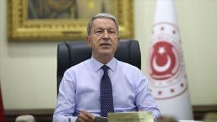 Milli Savunma Bakanı Hulusi Akar'dan Doğu Akdeniz açıklaması: Oldubittiye izin vermeyiz