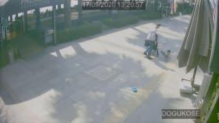 Bebek arabasından düşen çocuğuna şiddet uygulamıştı; O baba gözaltına alındı