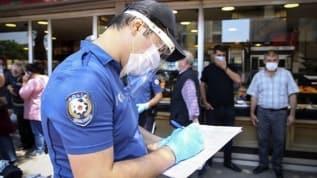 Kahramanmaraş'ta tedbirlere uymayanlara 129 bin 750 lira ceza