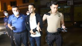 Adana'da kovalamaca sonucu yakalanan şüphelide 2 tabanca bulundu