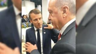 Başkan Erdoğan, Fransız lider Macron ile görüşecek