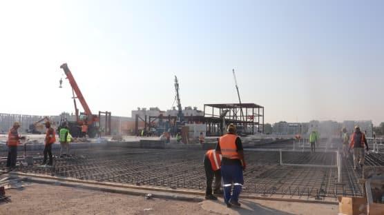 KKTC Acil Durum Hastane açılışında sona yaklaşıldı
