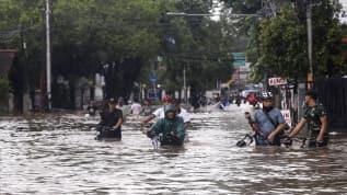 Endonezya şiddetli yağışların etkisi altında: 20 yaralı, 3 kayıp