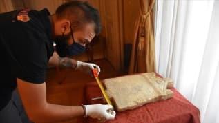 İtalya'da teslim alınan Lidya dönemine ait kefaret yazıtı Türkiye'ye dönüyor