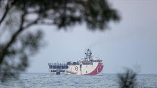 Oruç Reis, test çalışmaları için Antalya açıklarına demir attı