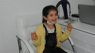 İlk kez duyan Fatma'nın sevinci ağlattı