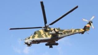 Libya ordusu açıkladı: Wagner'e bağlı paralı askerleri taşıyan helikopter düştü