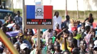 Mali'de Fransa karşıtı gösteriler! Dikkat çeken Rusya detayı