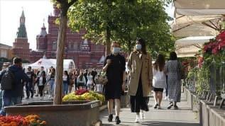 Rusya'da koronavirüs bilançosu artıyor: Vaka sayısı 1 milyon 122 bini geçti
