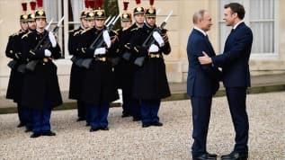 Rusya'dan, Putin-Macron görüşmesinin Fransız basınına sızdırılmasına tepki