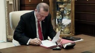 Başkan Recep Tayyip Erdoğan 6 üniversiteye rektör atadı