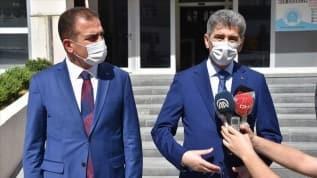 İçişleri Bakan Yardımcısı Muhterem İnce Yüksekova'da incelemelerde bulundu
